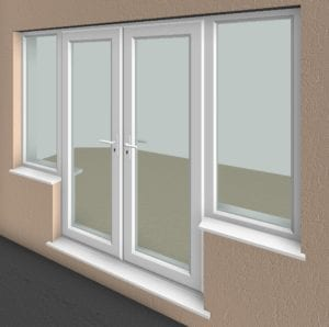 Essential bim everything you need from bim for French doors with windows on each side
